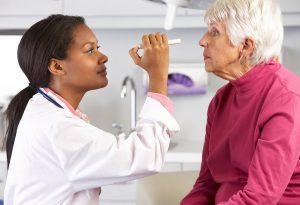 Vision loss and cognitive function